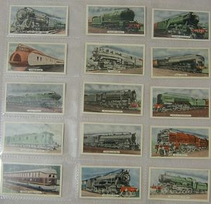 State Express - Speed - Locomotives  - Part Total Set - 15 cards